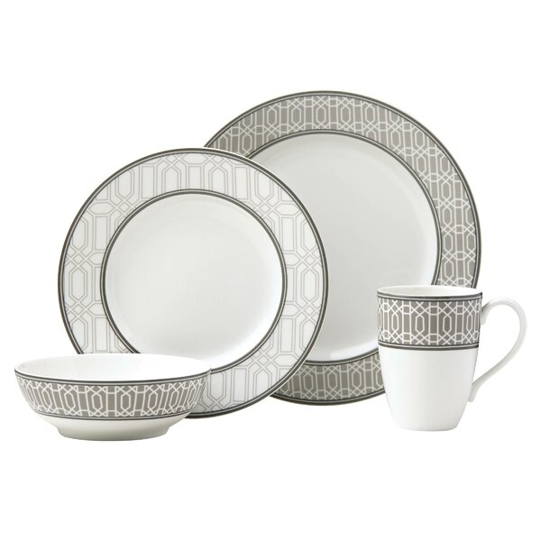 Neutral Party Link 4 Piece Place Setting, Service for 1 by Lenox