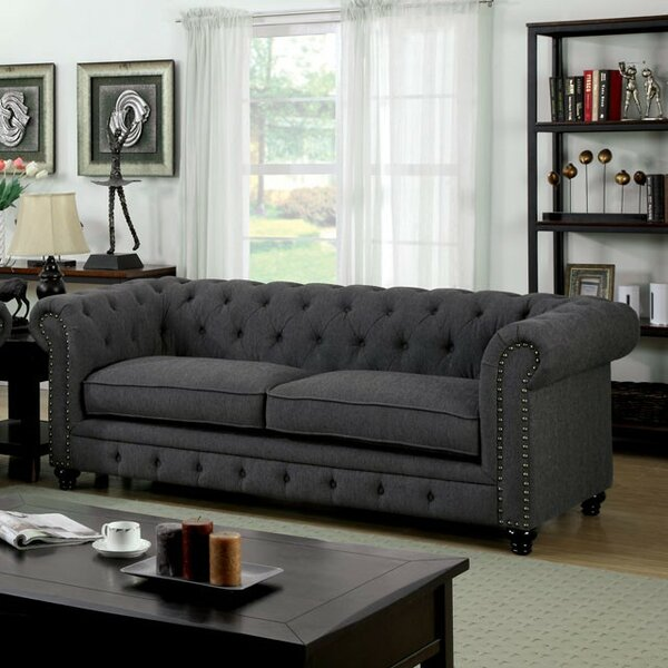 Molimo Chesterfield Sofa by Darby Home Co
