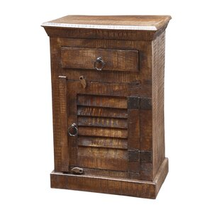 Troy 1 Drawer Nightstand by MOTI Furniture