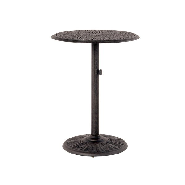 Merlyn Metal Bar Table by Fleur De Lis Living