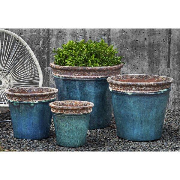 Wynonna 4-Piece Terracotta Pot Planter Set by Bloomsbury Market