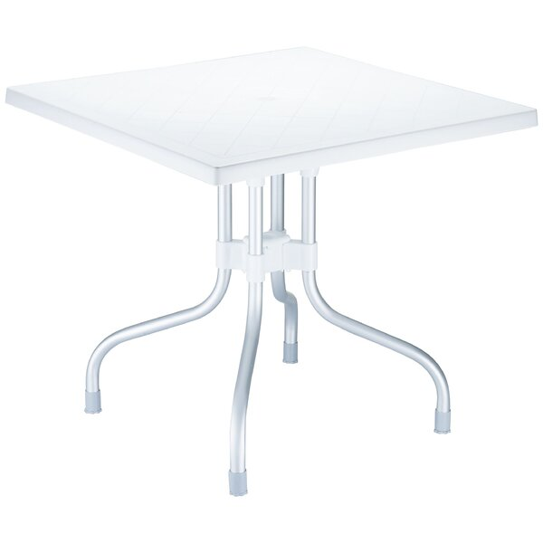 Buerger Square Folding Bistro Table by Latitude Run