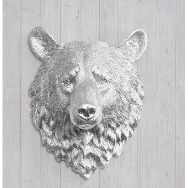 Kodiak Faux Taxidermy Bear Head Wall Décor by Wall Charmers