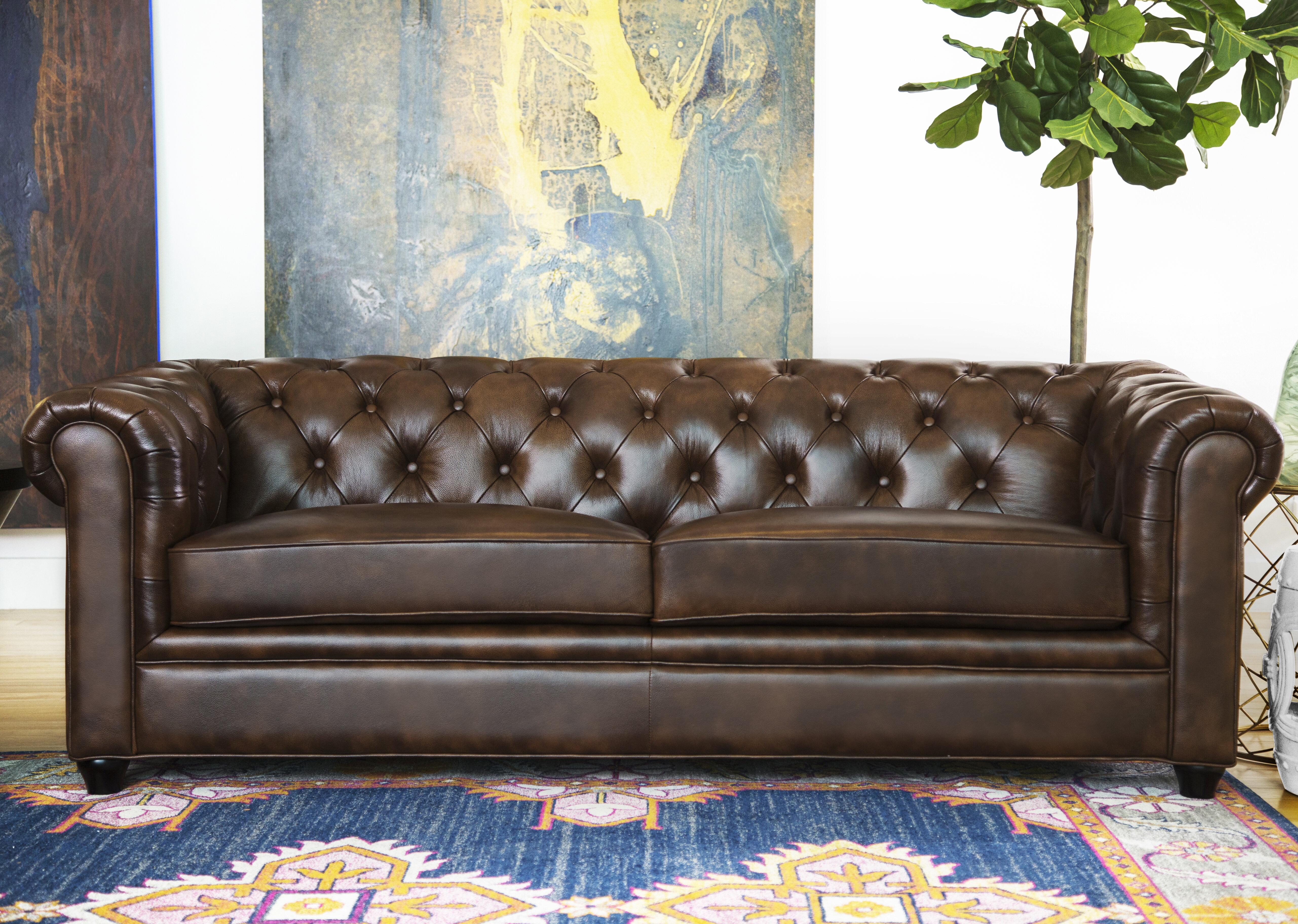 Clean A Leather Sofa