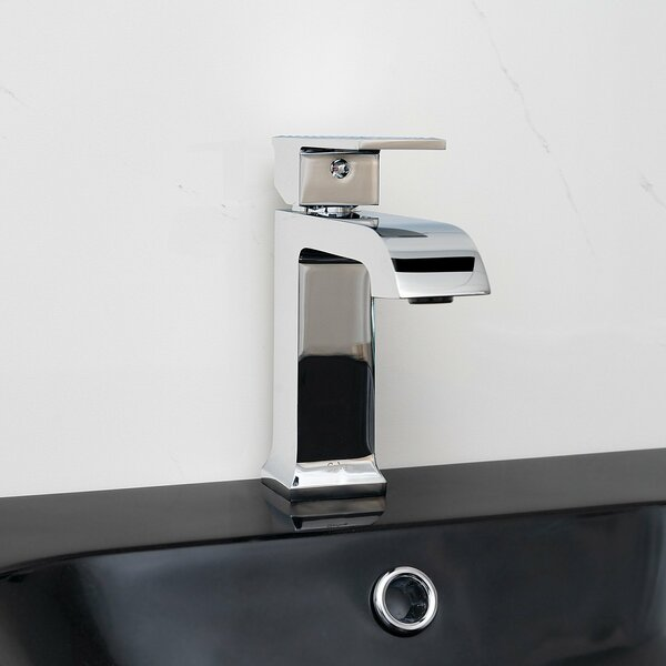 Lavatory Single Hole Bathroom Faucet with Drain Assembly