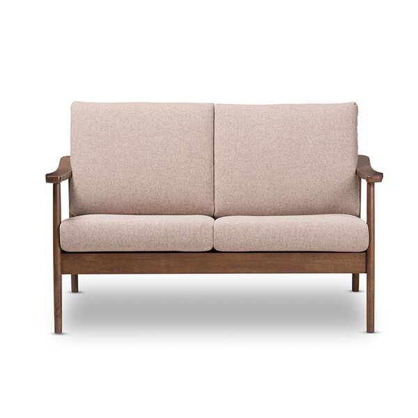 Check Prices Armor 50 Square Arm Loveseat by Union Rustic