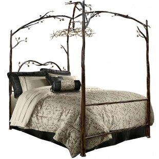 Churchman Queen Canopy Bed by Fleur De Lis Living