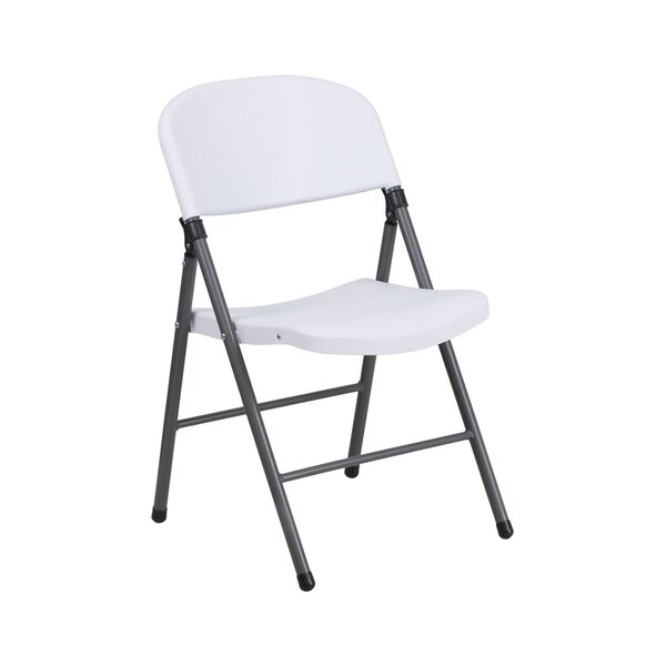 Hercules Series Plastic Metal Folding Chair by Offex