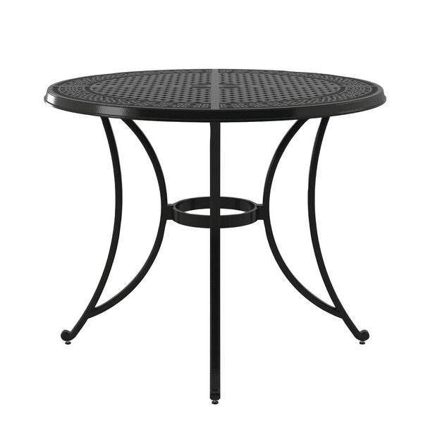 Berglund Aluminum Bar Table by Darby Home Co