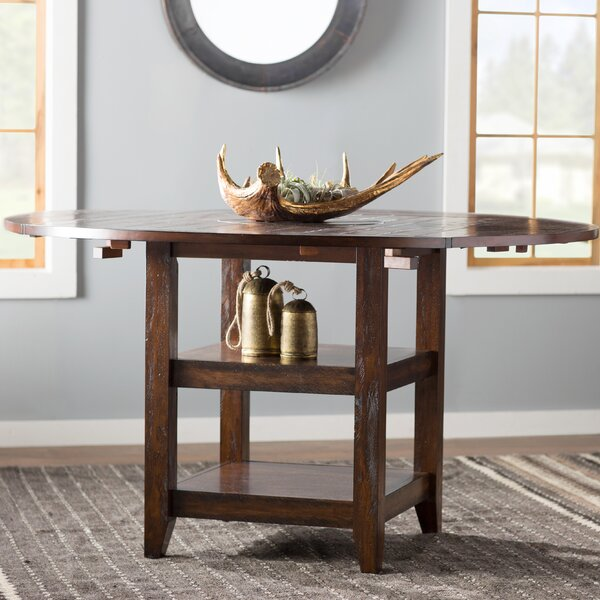 Electra Counter Height Extendable Drop Leaf Dining Table by Loon Peak Loon Peak
