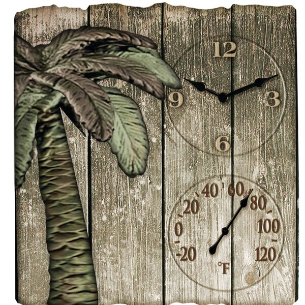 Palm Tree Clock by Taylor