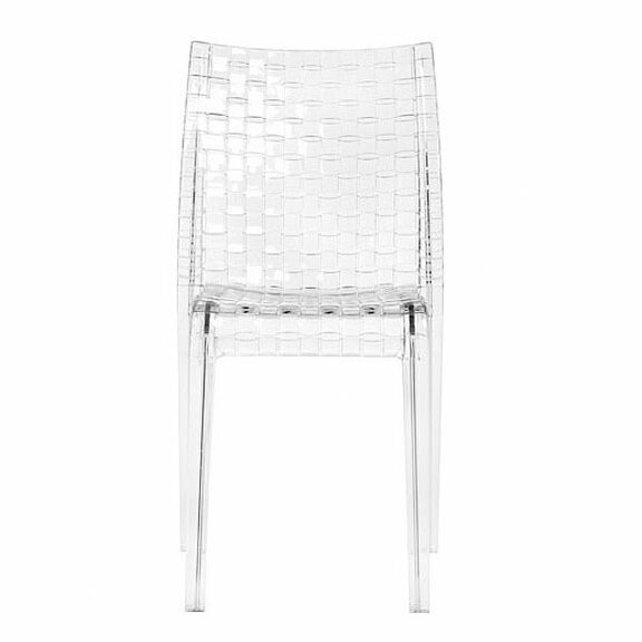 Ami Stacking Chair (Set of 2) by Kartell