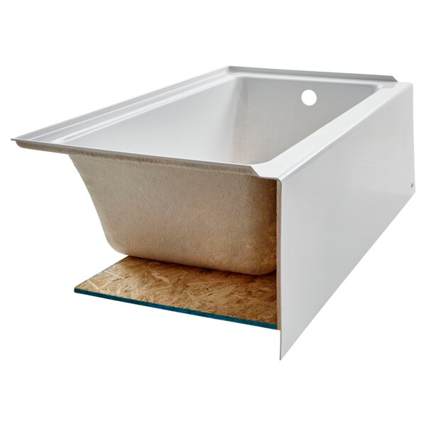 Studio Acrylic 60 x 30 Alcove Soaking Bathtub by American Standard