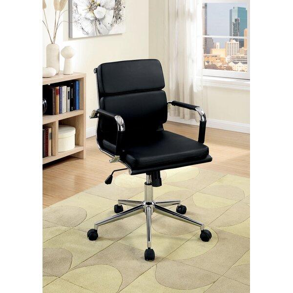 Gwyneth Low Back Office Chair by Ebern Designs