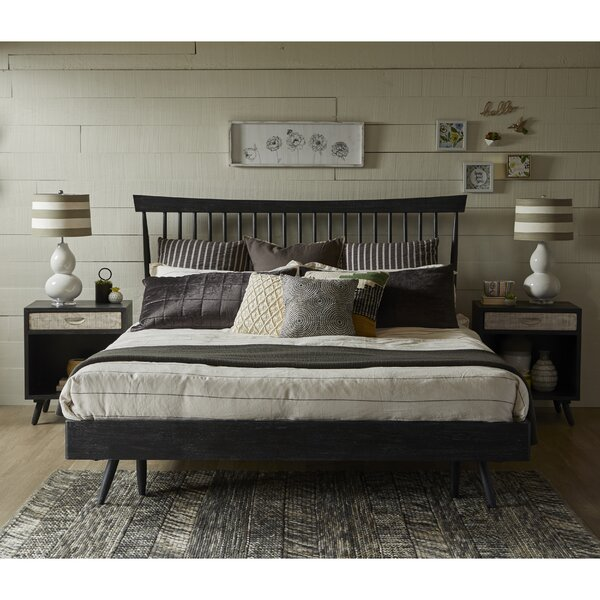 Hehir King Platform Configurable Bedroom Set by Gracie Oaks