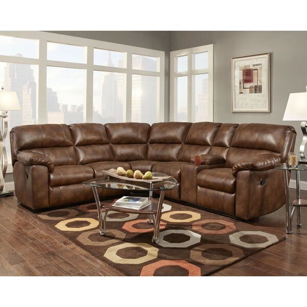 Ankrum Reclining Sectional by Darby Home Co