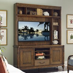 Bali Hai Solid Wood Entertainment Center For TVs Up To 60