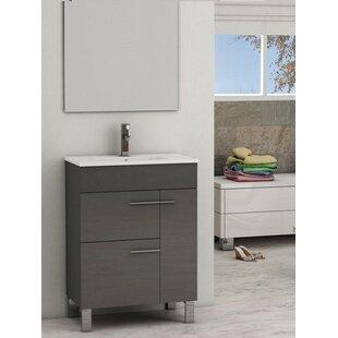 Comparison Estella 24 Single Bathroom Vanity Set ByOrren Ellis