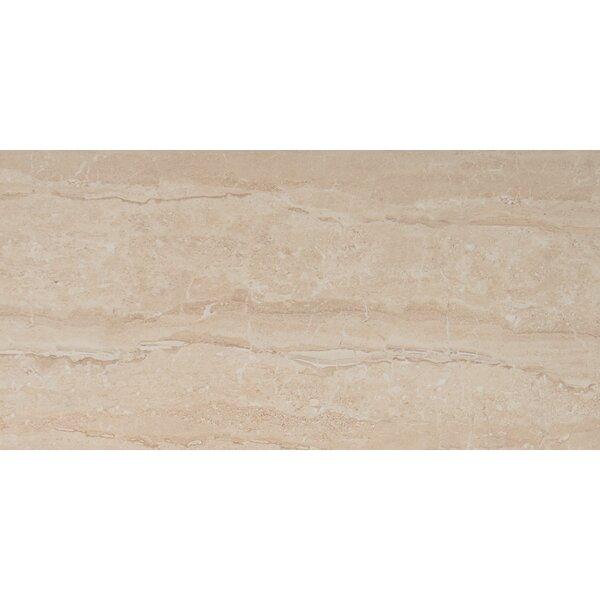 Dunes 16 x 32 Porcelain Wood Look/Field Tile in Beige by MSI