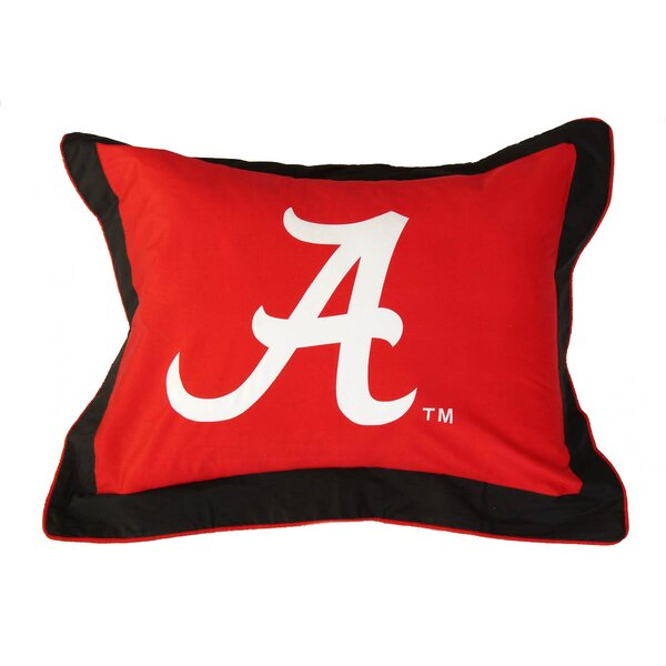 NCAA  Alabama Pillow Sham by College Covers