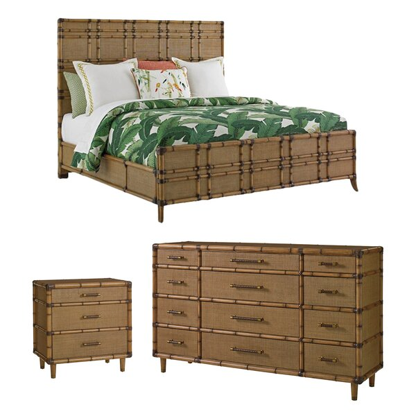 Twin Palms Platform Configurable Bedroom Set by Tommy Bahama Home