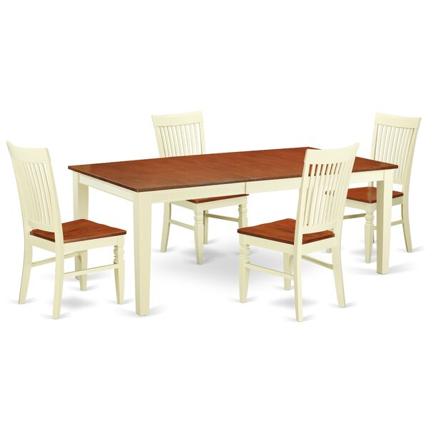 Pilger Solid Wood Dining Set by August Grove August Grove