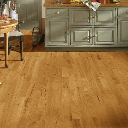 5 Solid Hickory Hardwood Flooring in Smokey Topaz by Bruce Flooring