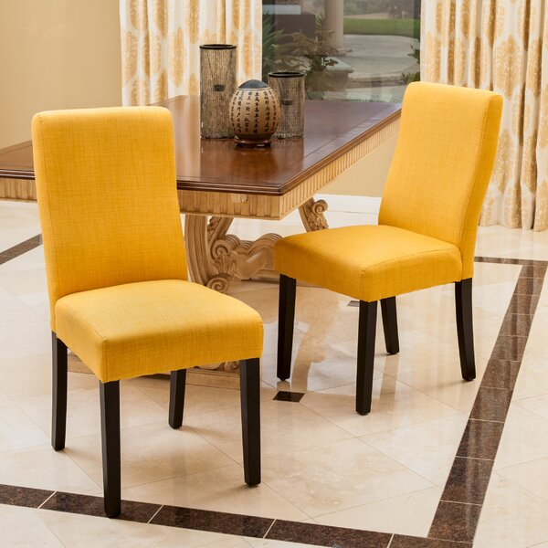 Caverly Upholstered Dining Chair (Set Of 2) By Brayden Studio