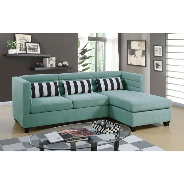 San Castle Reversible Sectional by Brayden Studio