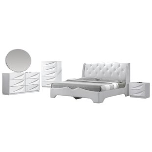 Purchase Madrid Platform 5 Piece Bedroom Set By BestMasterFurniture
