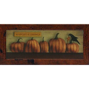 Harvest Blessings Mini by Billy Jacobs Framed Painting Print by Artistic Reflections