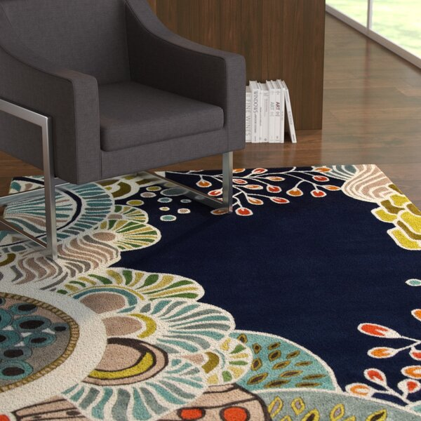 Despina Hand-Tufted Area Rug by Ebern Designs