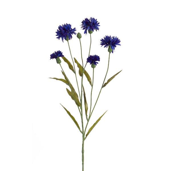 Corn Flower Floral Arrangement (Set of 12) by Alcott Hill