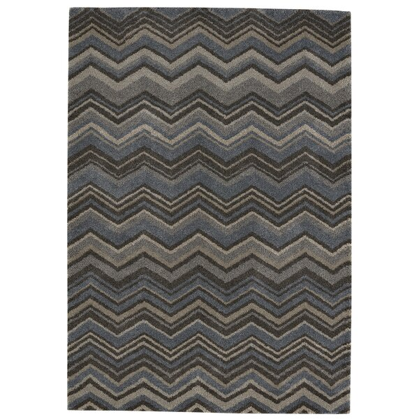 Elmwood Blue/Gray Area Rug by Ebern Designs