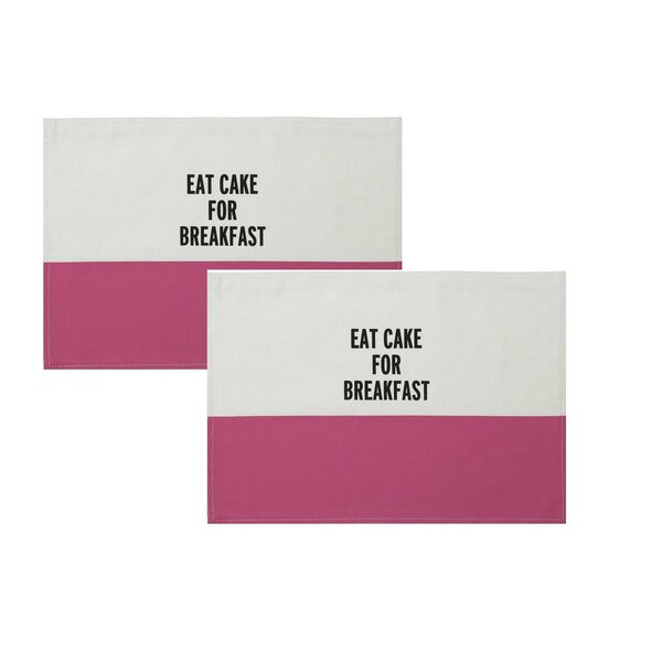 Food For Thought Placemat Set by kate spade new york