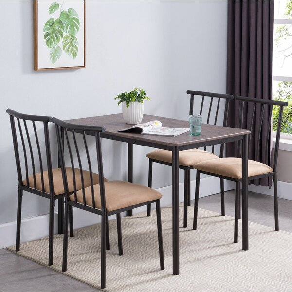 Stclair 5 Piece Dining Set by Winston Porter