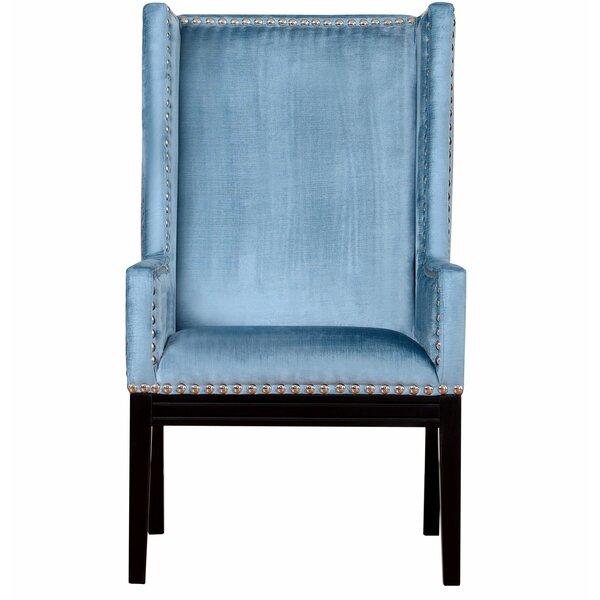 Stocksbridge Wingback Chair by Everly Quinn