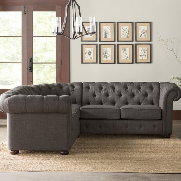 Fantastis Jeffersonville Symmetrical Symmetrical Sectional by Three Posts by Three Posts
