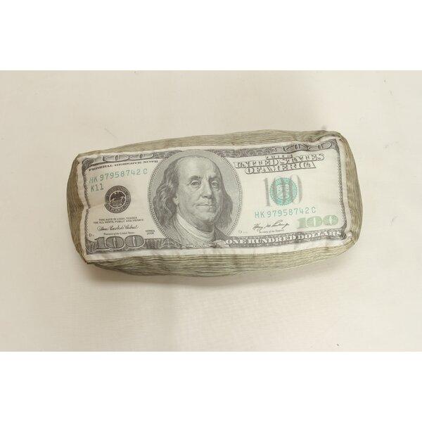 Money Lumbar Pillow by Wow Works LLC
