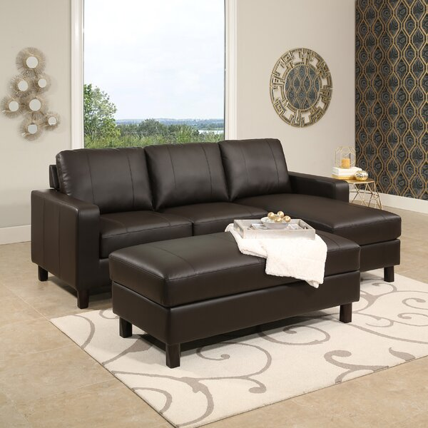 Oshea Modular Sectional With Ottoman by Ebern Designs