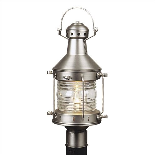 Oakhill Outdoor 1-Light Post Light by Charlton Home