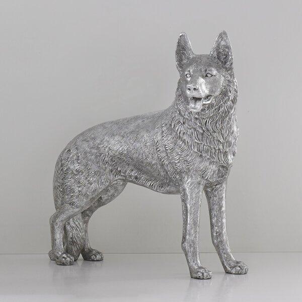 German Shepherd Statue Wayfair