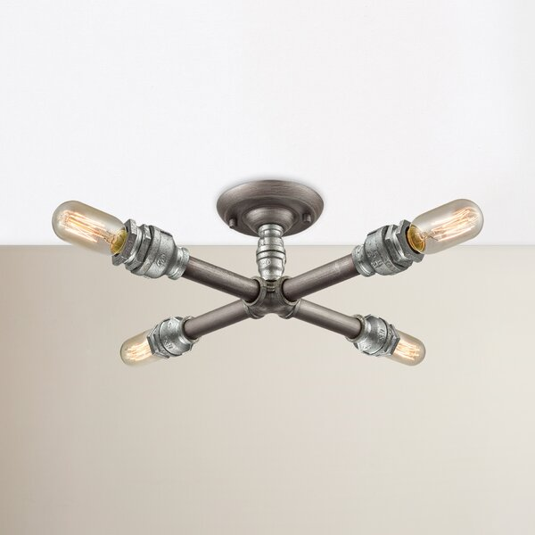 Hesperia 4-Light Semi Flush Mount by Corrigan Stud