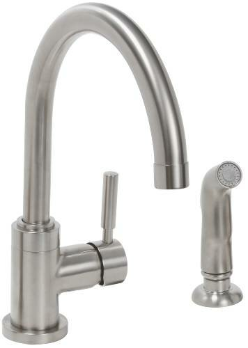 Essen Single Handle Kitchen Faucet with Side Spray by Premier Faucet