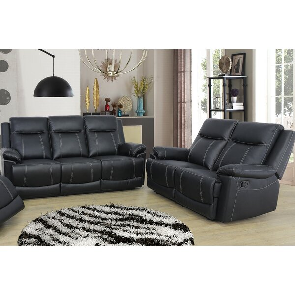 Ahner 2 Piece Reclining Living Room Set