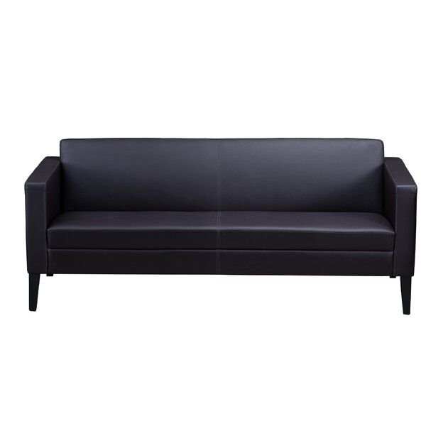 Prestige Leather Sofa by Mayline Group