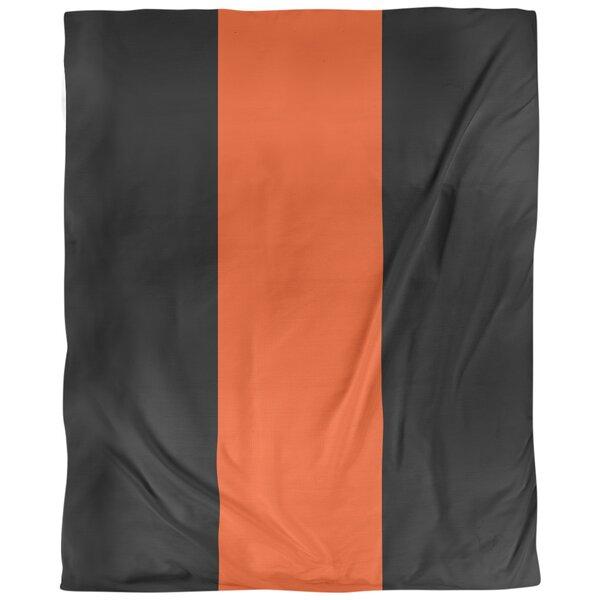 Cincinnati Arizona Football Stripes Single Duvet Cover