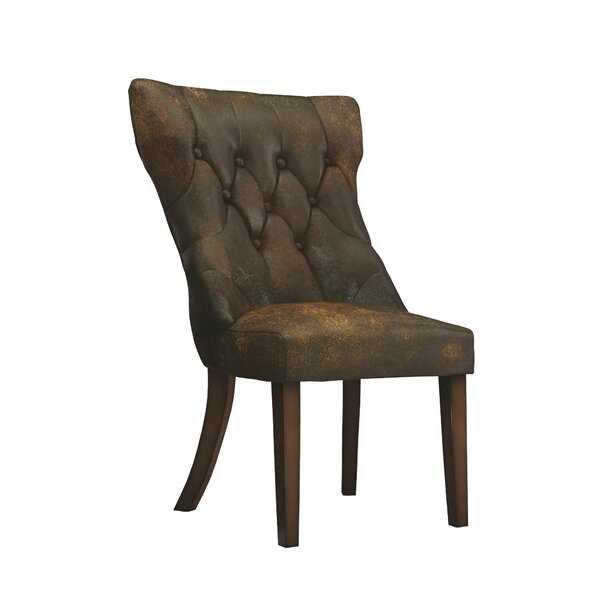 Upholstered Tufted Side Chair (Set Of 2) By Kingstown Home
