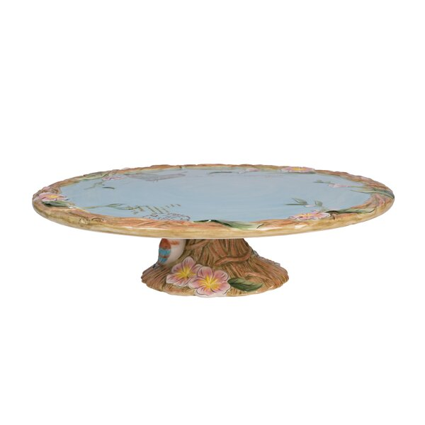 Toulouse Footed Cake Stand by Fitz and Floyd