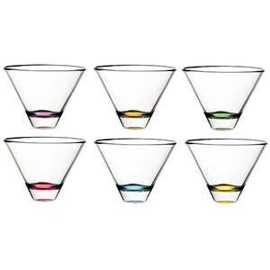 Confetti Stemless Wine Glass (Set of 6)